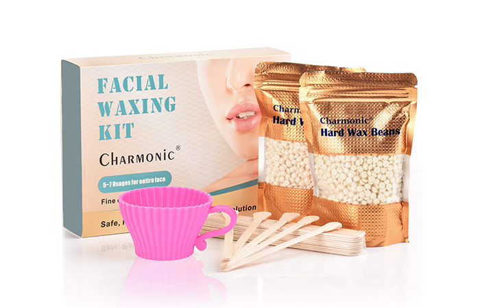 Charmonic Facial Hair Removal Waxing Kit