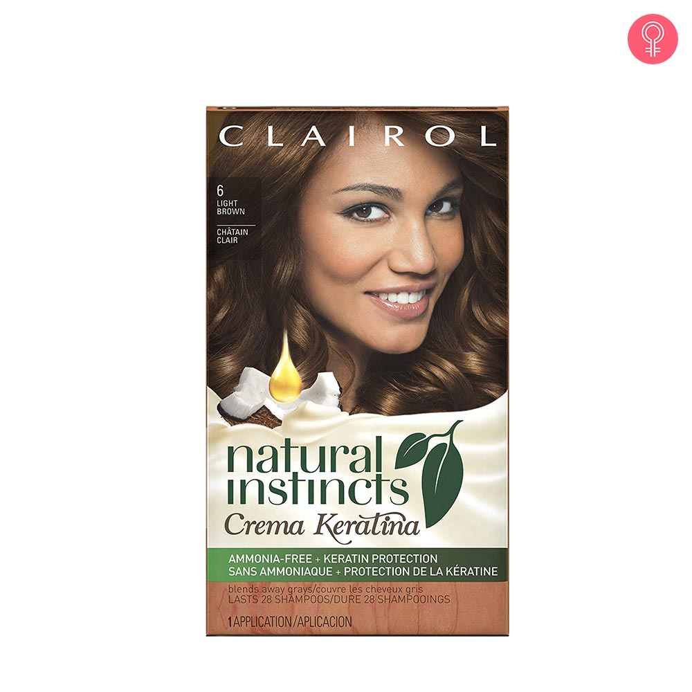 Clairol Natural Instincts Crema Keratina Hair Color Kit