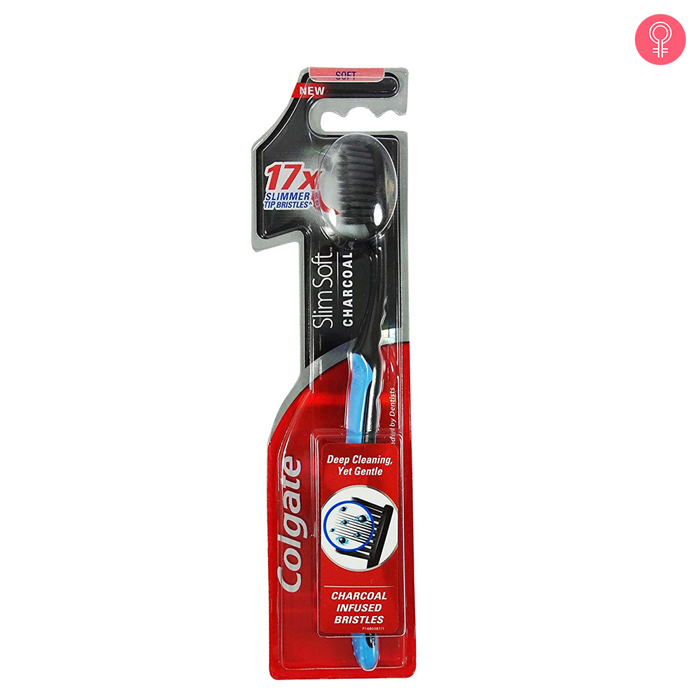 Colgate Slim Soft Charcoal Toothbrush