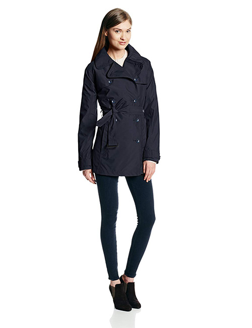 Cutter & Buck Weathertec Mason Single-Breasted Trench Coat