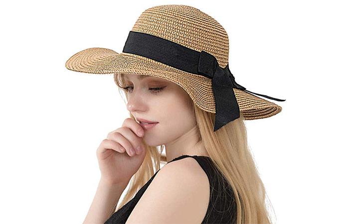 Double Couple Women's Straw Hat