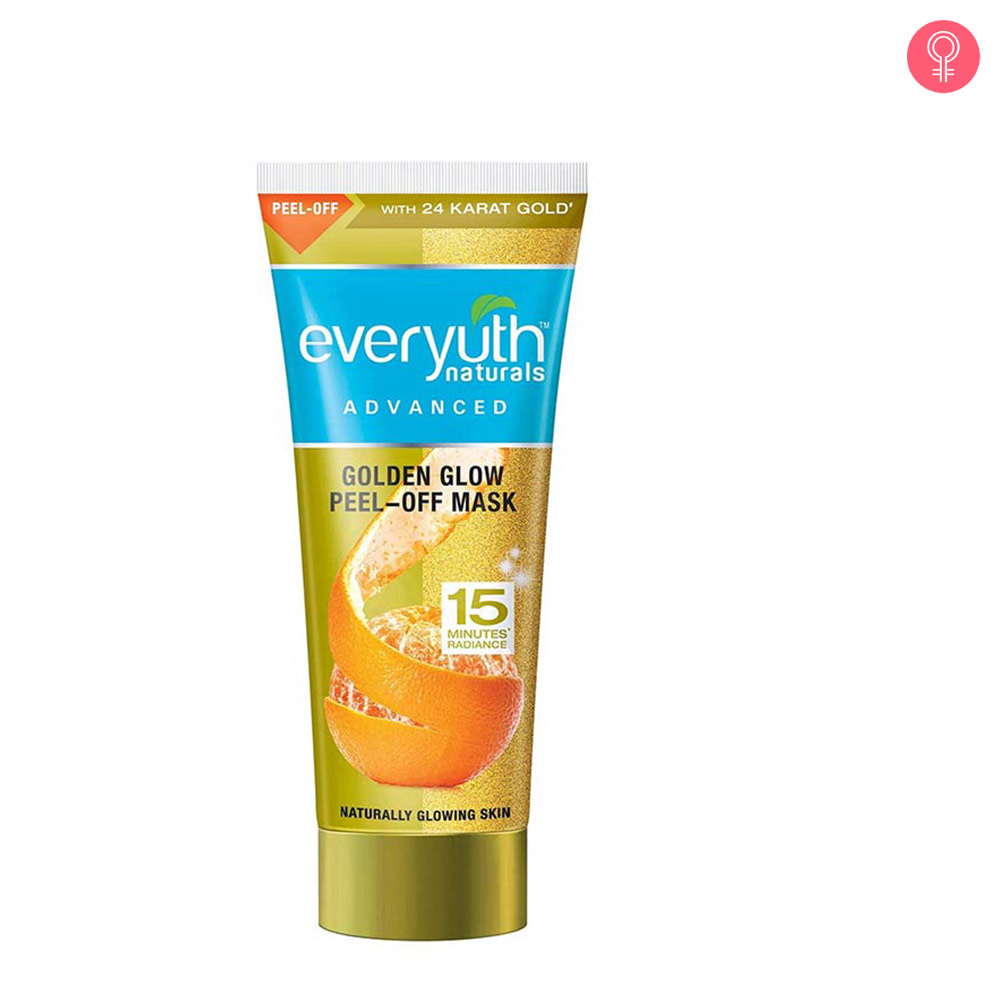 Everyuth Naturals Advanced Golden Glow Peel-off Mask