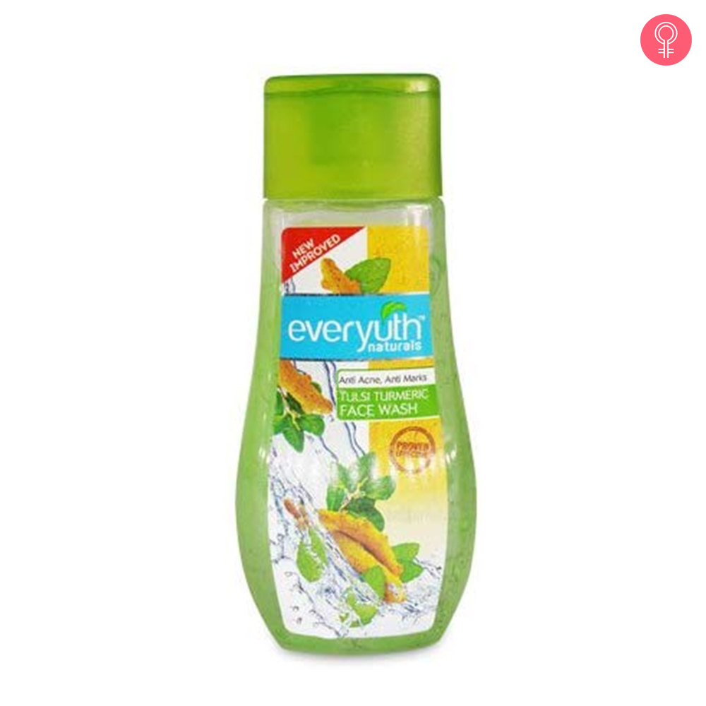 Everyuth Tulsi Turmeric Face Wash