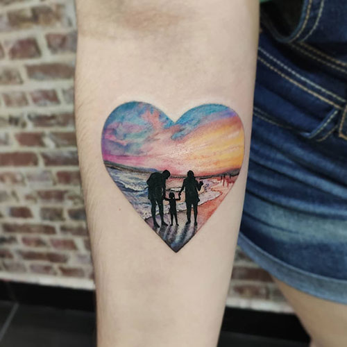 Family Love Tattoo
