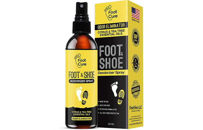 Foot Cure Foot & Shoe Deodorizer Spray