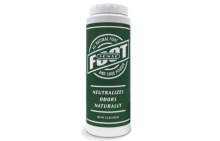 Foot Sense Natural Shoe Deodorizer Powder & Foot Odor Eliminator
