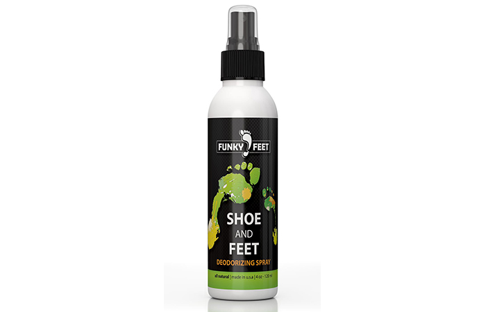 Funky Feet Shoe And Feet Deodorizing Foot Odor Spray