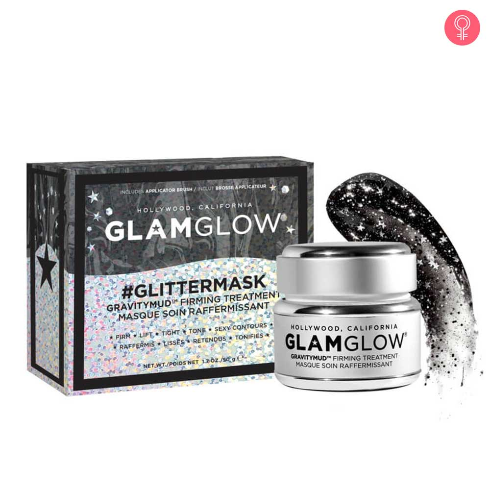Glamglow Glitter Mask Gravitymud Firming Treatment