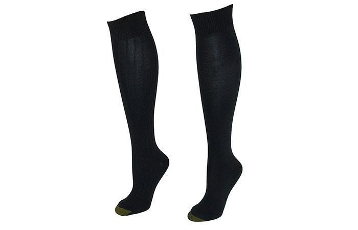 Gold Toe WomenS Plus Size Stella Knee High Socks