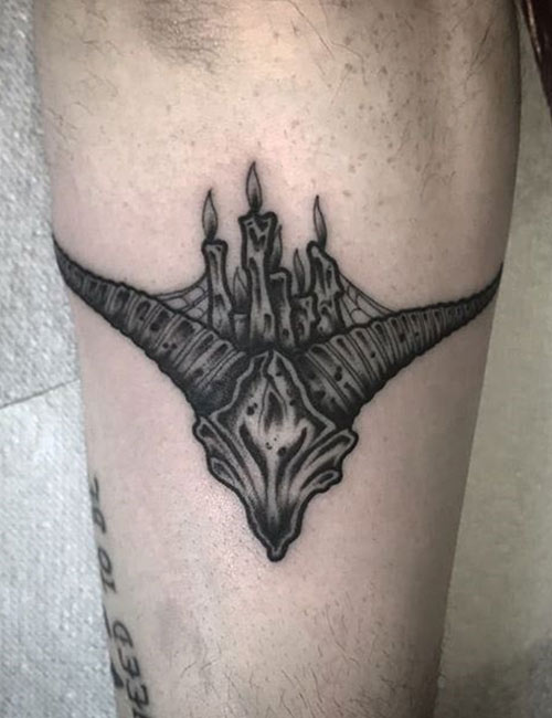 Gothic Demon Tattoo