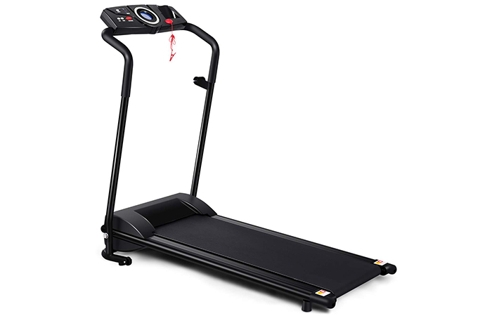 Gymax Folding Electric Portable Treadmill
