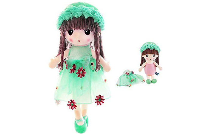 HWD Kawaii Flower Fairy Stuffed Soft Plush Toy Doll