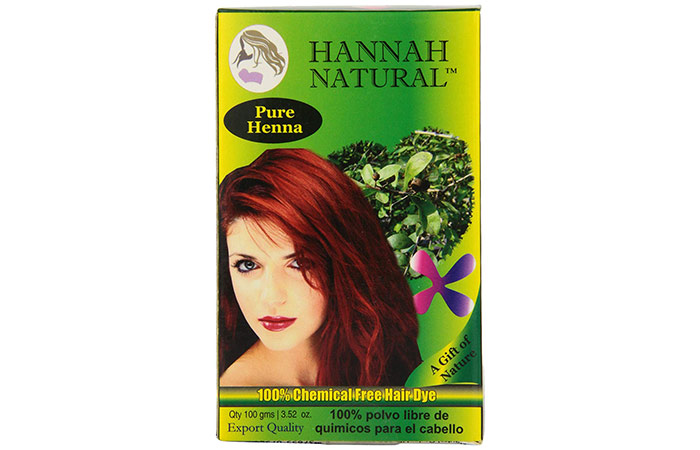 Hannah Natural henna 100% pure henna powder