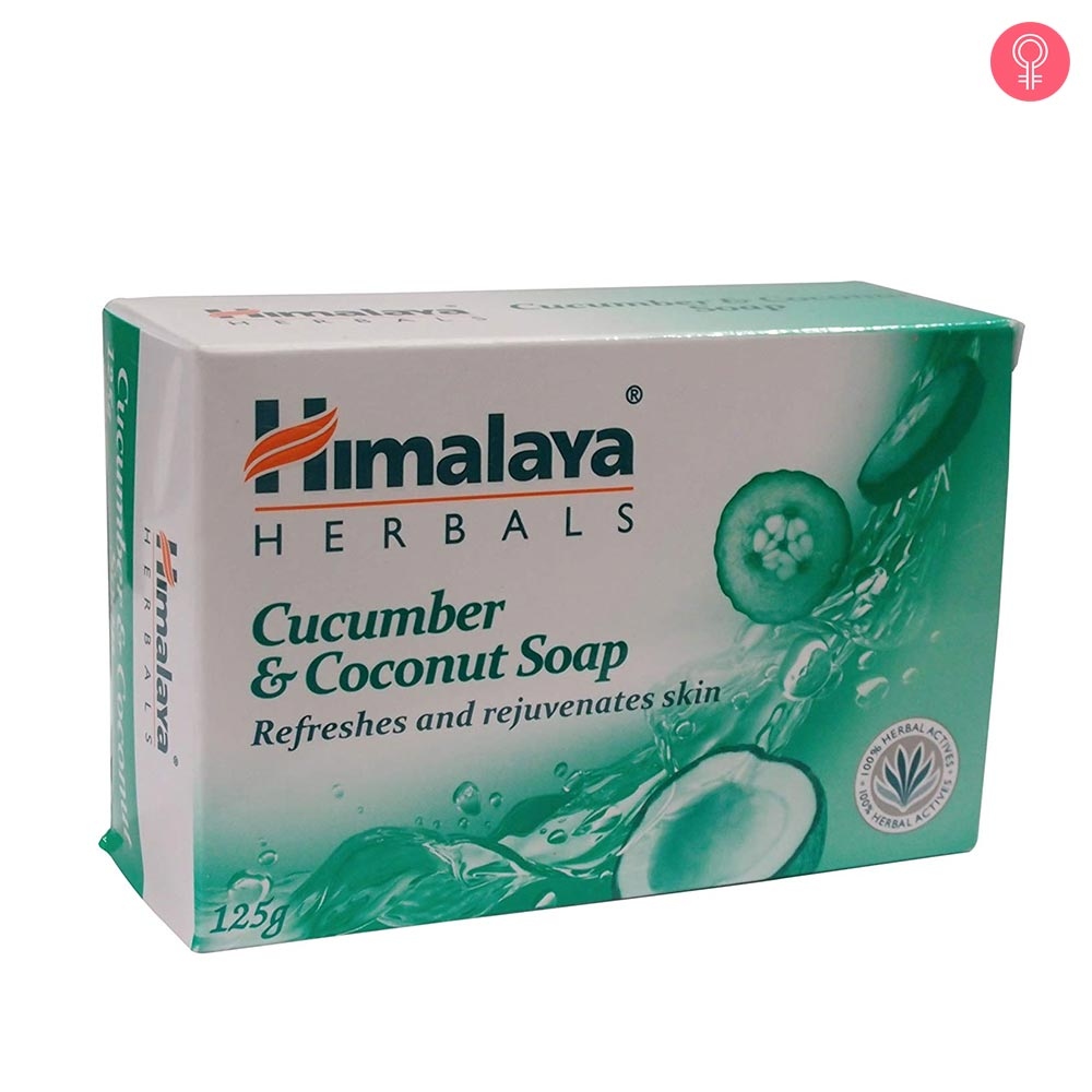 Himalaya Herbals Cucumber And Coconut Soap