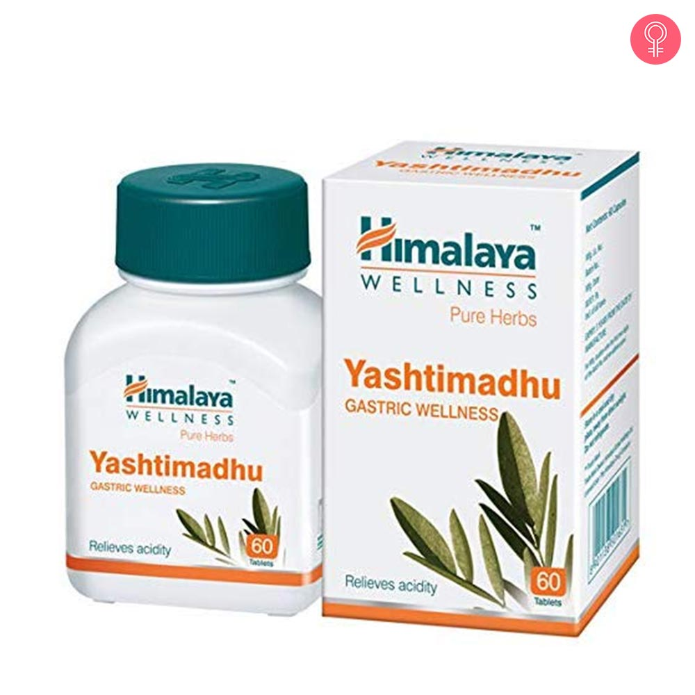 Himalaya Wellness Pure Herbs Yashtimadhu Gastric Wellness Tablets
