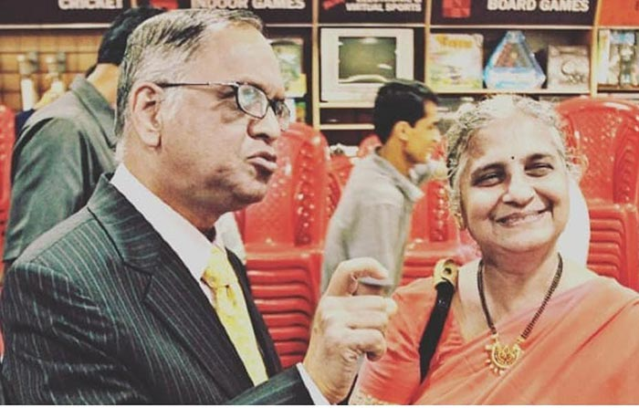 How She Met Narayana Murthy