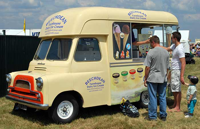 Ice cream Was Bought Only From Ice Cream Vans