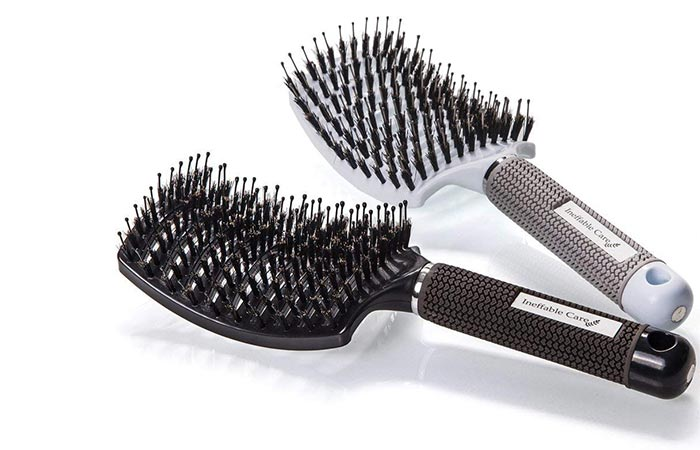 Ineffable Care Boar Bristle Hair Brush Set