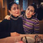 Karisma And Kareena Celebrate Holiday Dinner With Crepes And Spaghetti. A Yummy Cheat Meal Indeed!