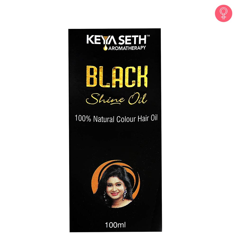 Keya Seth Aromatherapy Black Shine Hair Oil