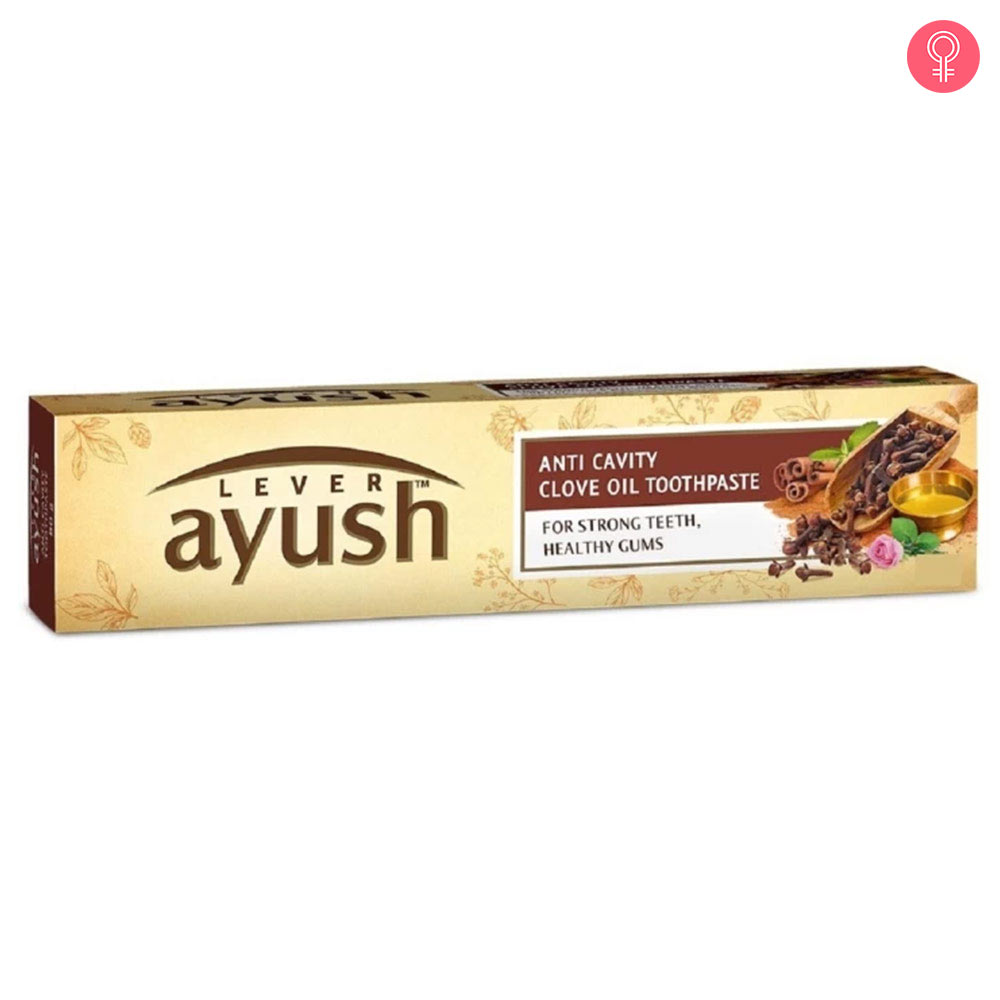 Lever Ayush Anti Cavity Clove Oil Toothpaste