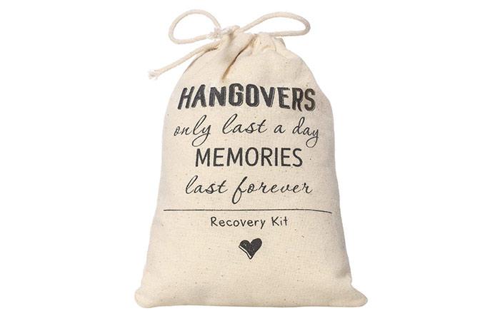 Ling's Moment Hangover Kit Bags