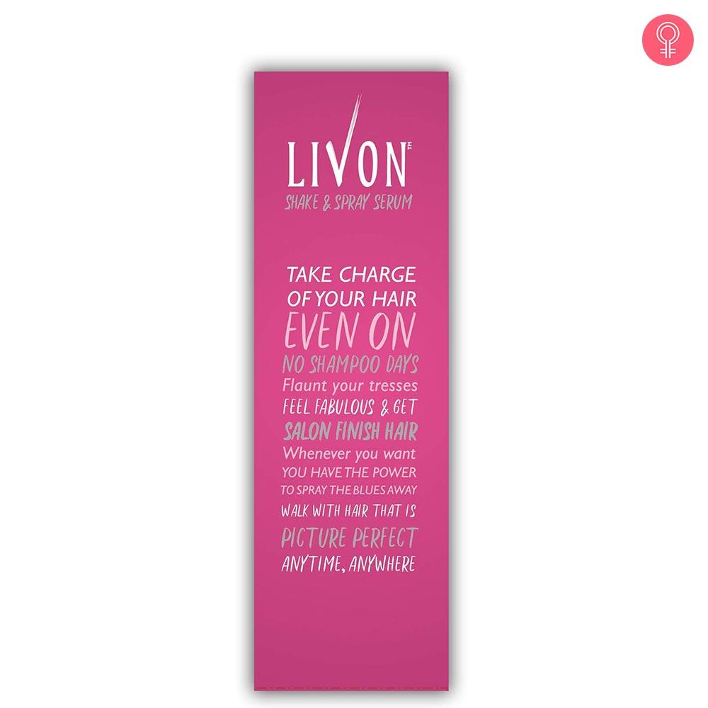 Livon Shake and Spray Serum