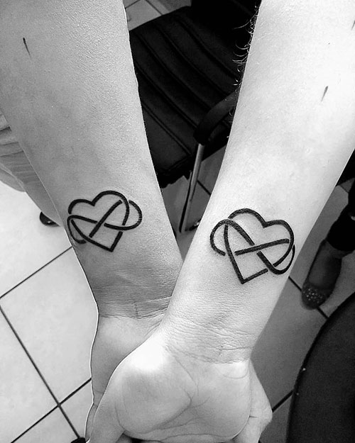 Love Infinity Tattoo