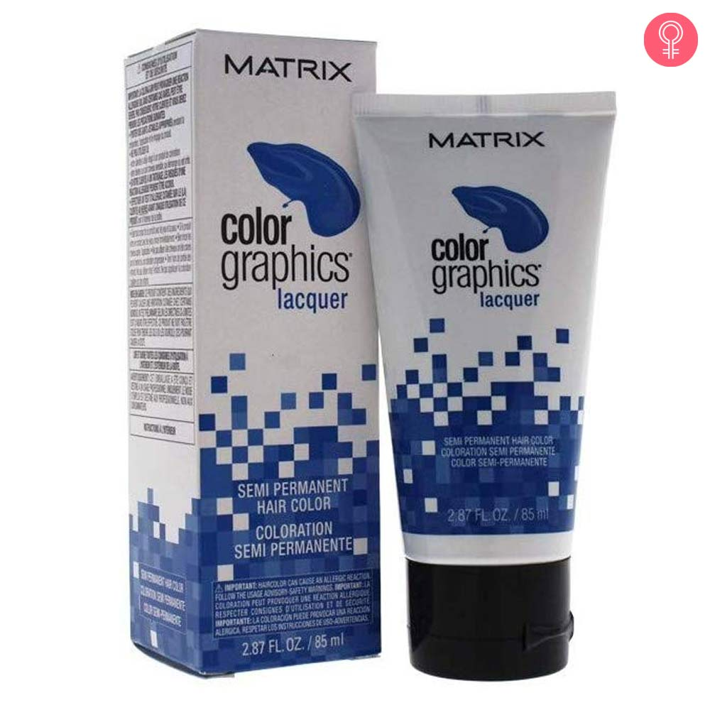 Matrix Color Graphics Laquer Semi Permanent Hair Color