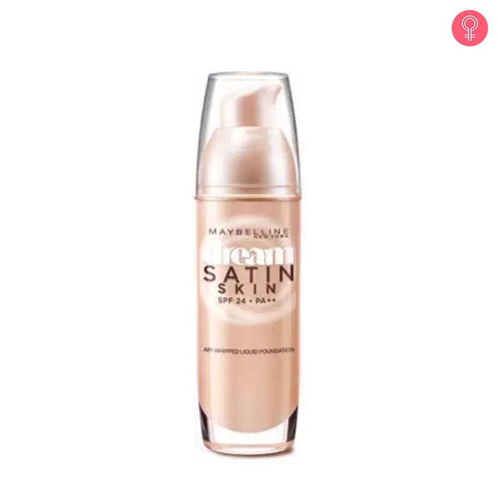 Maybelline Dream Satin Skin Liquid Foundation SPF 24 PA++