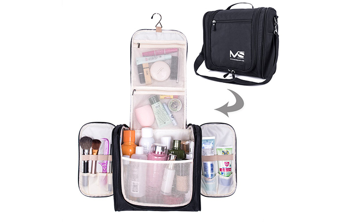 MelodySusie Large Hanging Travel Toiletry Bag