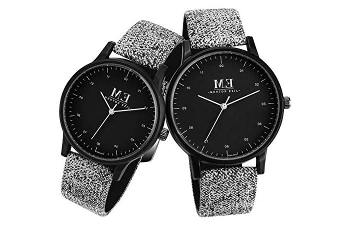 Menton Ezil Digital Analog Wristwatches