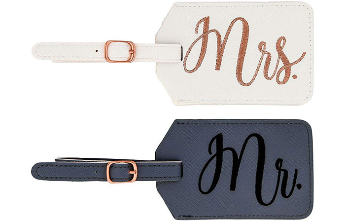 Miamica Mr. and Mrs. Luggage Tags