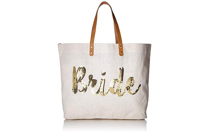 Mud Pie Bride Tote Bag