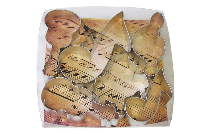 Musical Cookie Cutters – 6-Piece Set