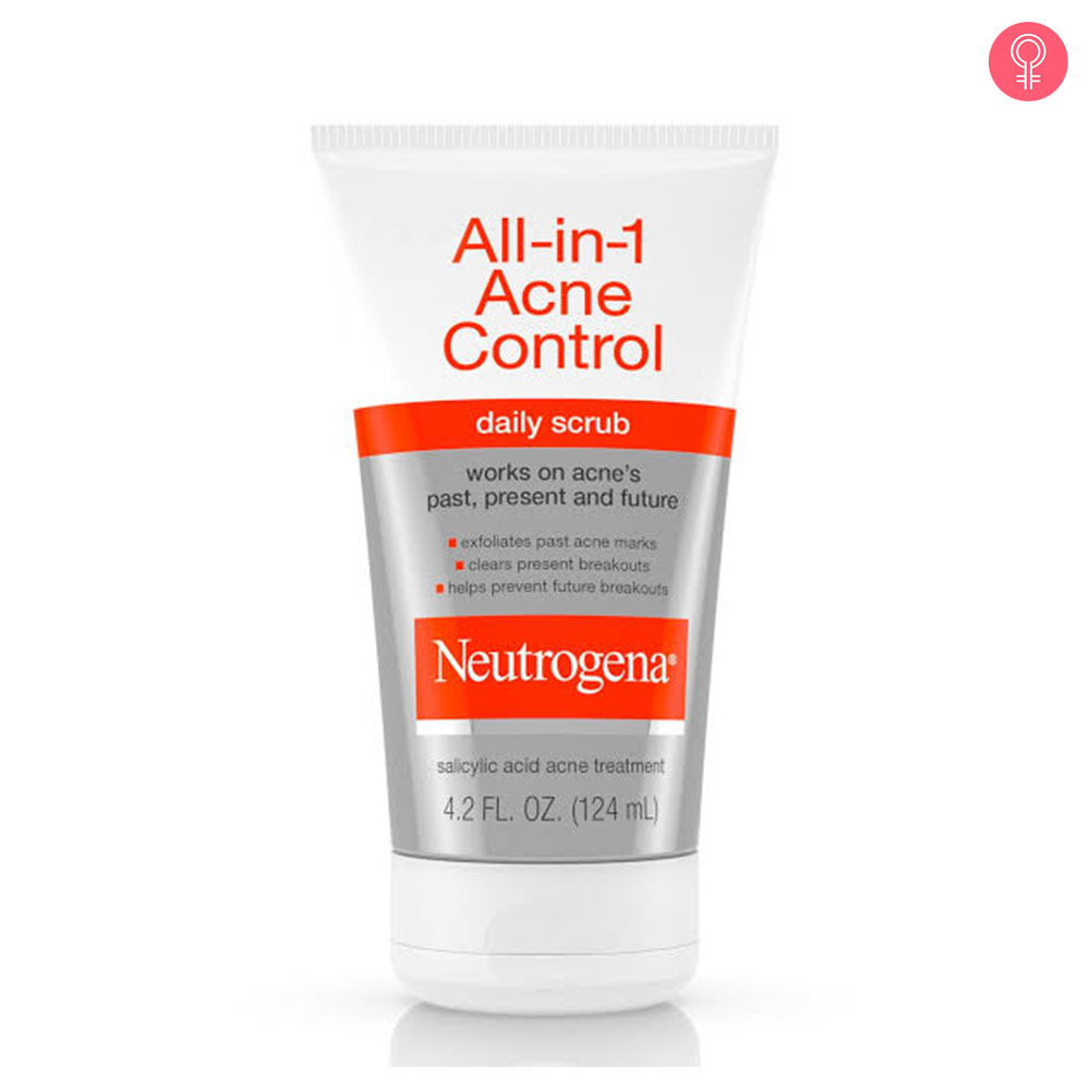 Neutrogena All In 1 Acne Control Daily Scrub-1