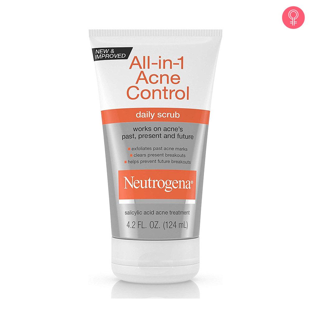 Neutrogena All In 1 Acne Control Daily Scrub