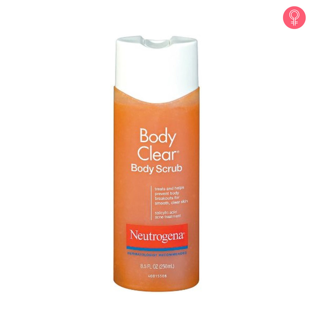Neutrogena Body Clear Acne Body Scrub Formulated with Salicylic Acid