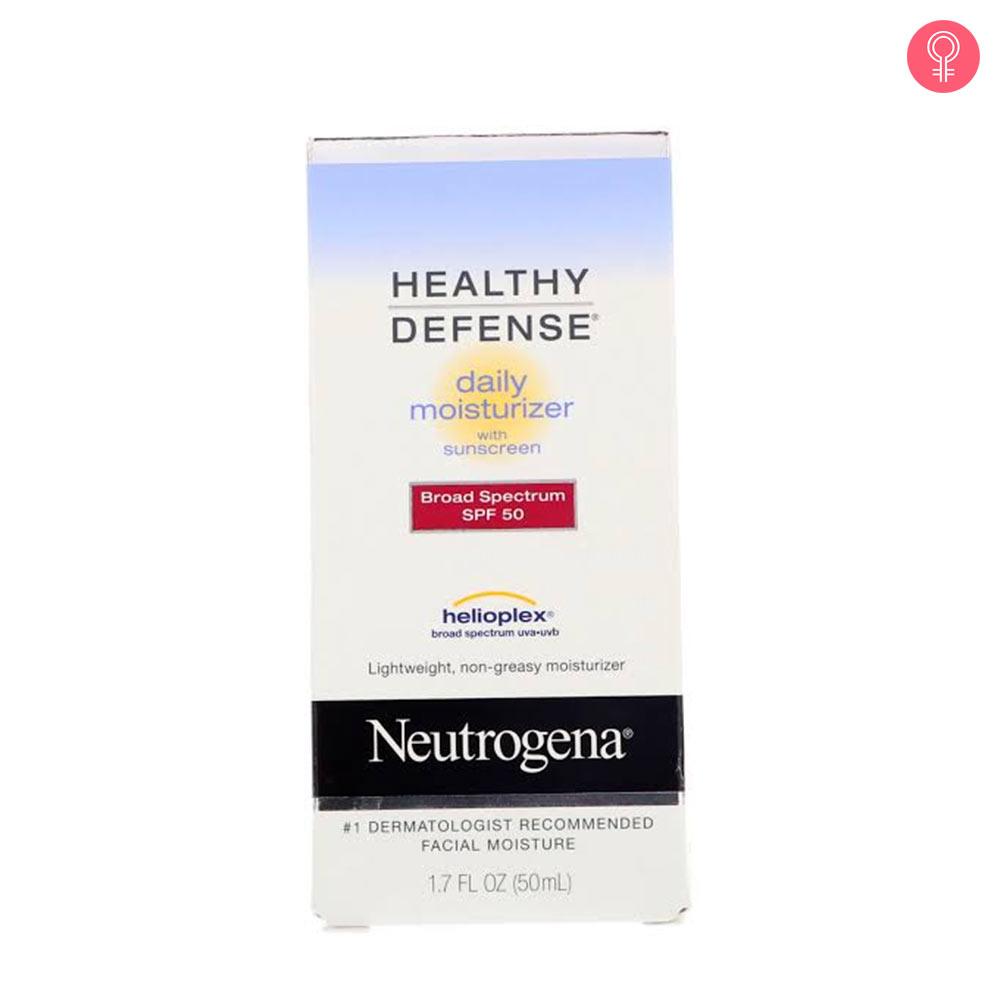 Neutrogena Healthy Defense Daily Moisturizer With Sunscreen SPF 50