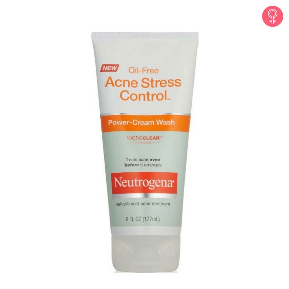 Neutrogena Oil Free Acne Stress Control Power Cream Wash