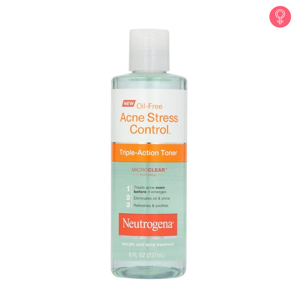Neutrogena Oil Free Acne Stress Control Triple-Action Toner