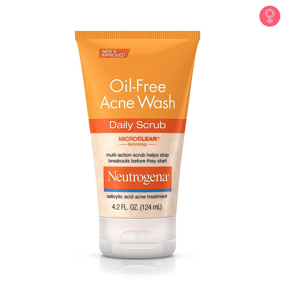 Neutrogena Oil Free Acne Wash Daily Scrub