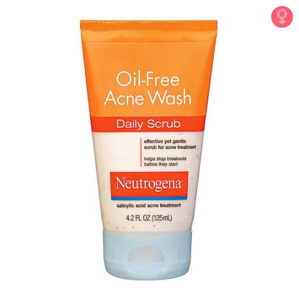 Neutrogena Oil Free Acne Wash Daily Scrub-1
