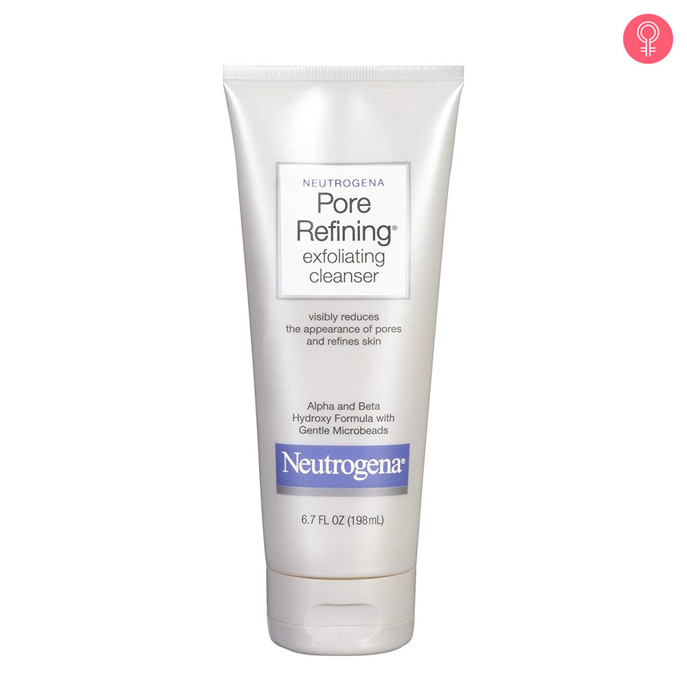 Neutrogena Pore Refining Exfoliating Cleanser