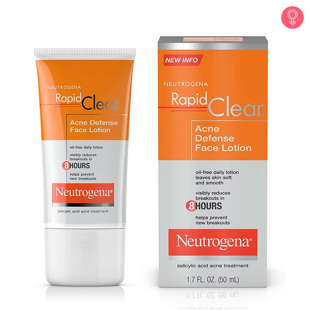 Neutrogena Rapid Clear Acne Defense Oil Free Face Lotion