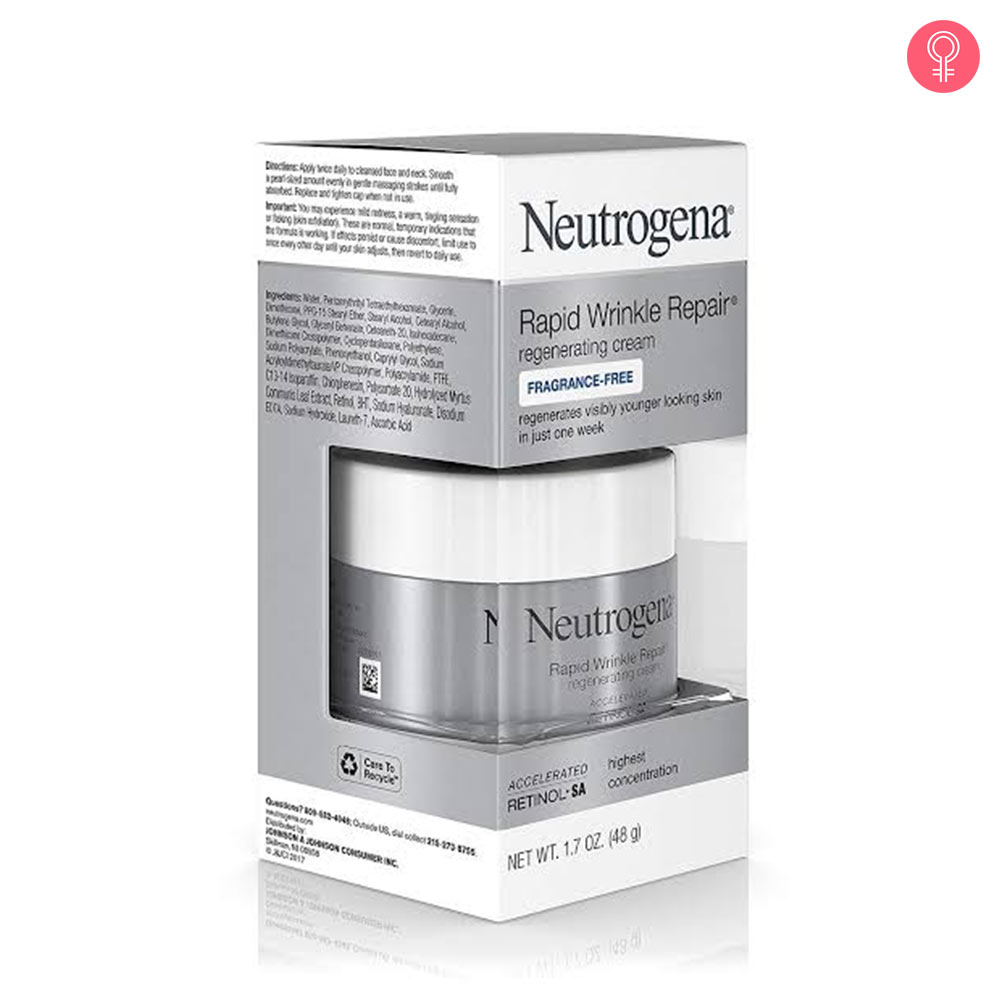 Neutrogena Rapid Wrinkle Repair Regenerating Retinol Cream