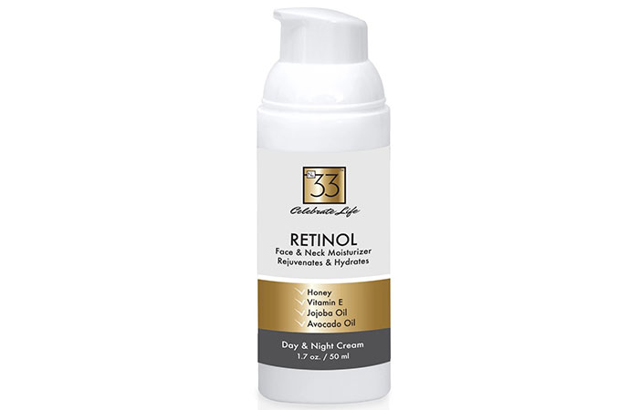 No33 Beauty Retinol Face And Neck Moisturizer