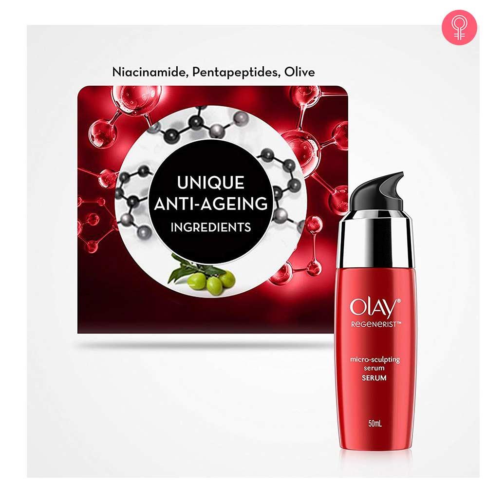 Olay Regenerist Advanced Anti-Ageing Micro-Sculpting Serum Skin Cream