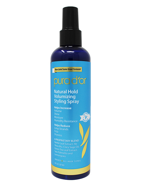 Pura D'Or Natural Hold Volumizing Spray