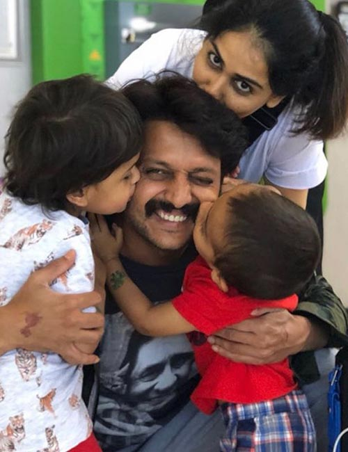 Riteish and Genelia fell in love